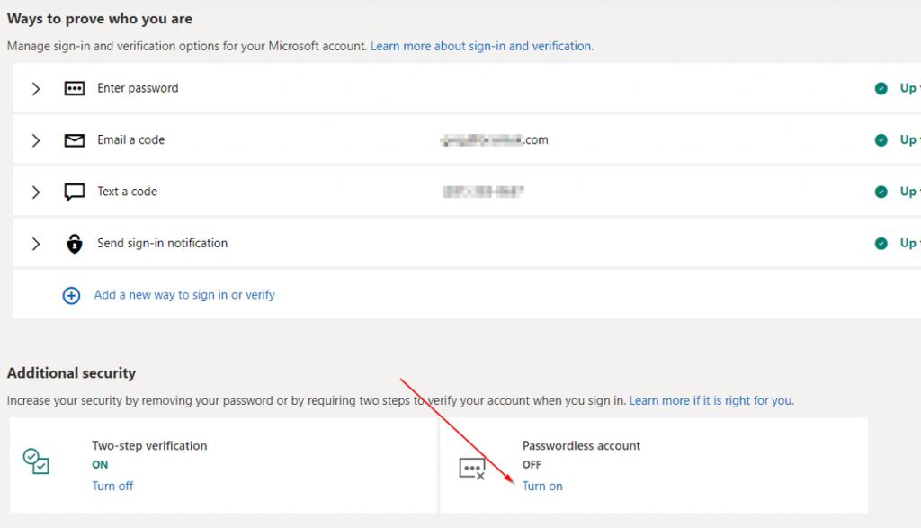 Go Passwordless - IT Support