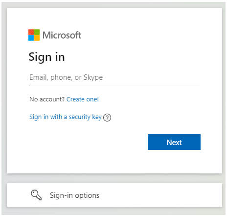 Login to Hotmail - IT Support